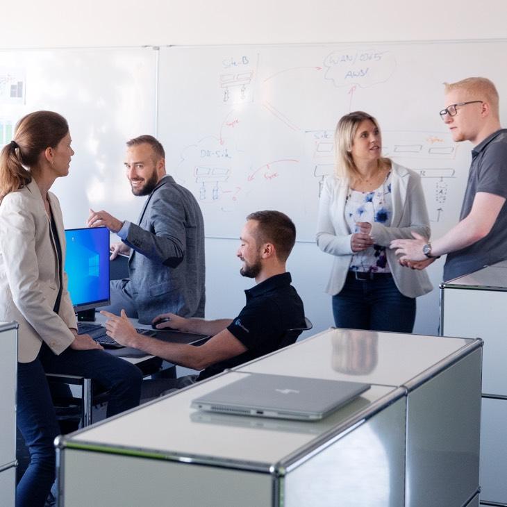Effizientes Teamwork dank persönlicher Beratung
