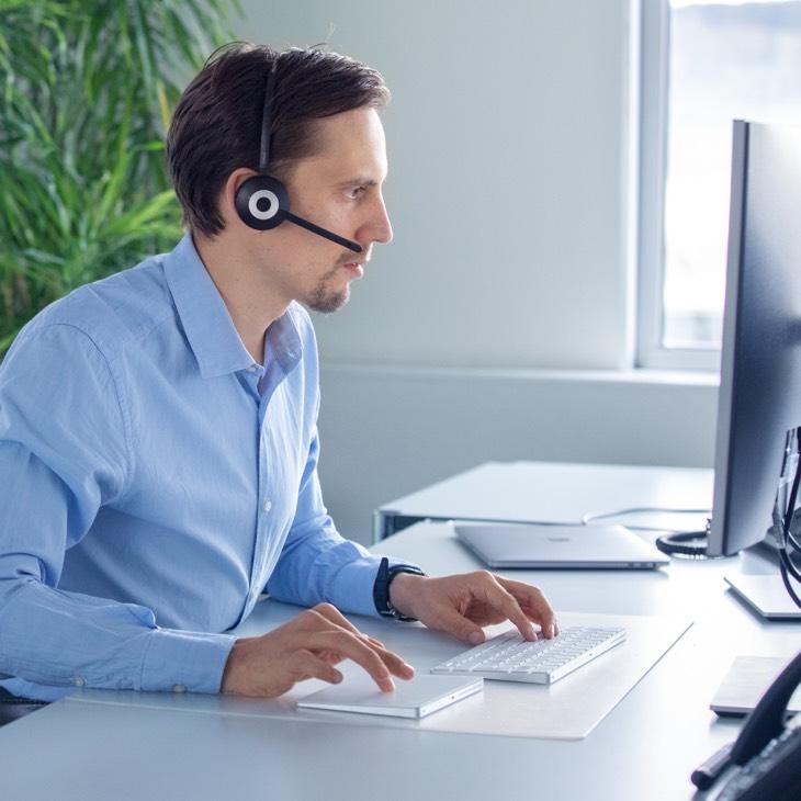 Verschiedene Support-Modelle, ein Ansprechpartner, Anruf oder E-Mail genügt