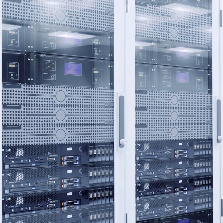 Das Beltronic Rechenzentrum bietet Ihnen so viel Speicherkapazität, wie Sie benötigen