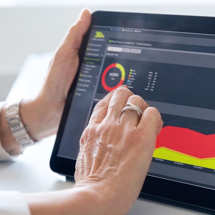 Mit einem System Monitoring kontrollieren Sie Ihre IT zeit- und ortsunabhängig
