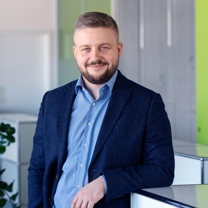 André Frischknecht, Geschäftsführer bei Beltronic