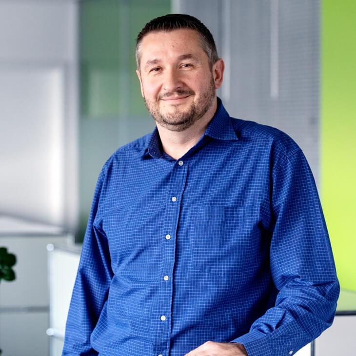 Arndt Kleibl, Geschäftsleiter bei Beltronic