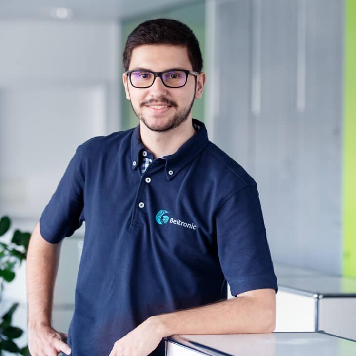 Brundo Fonseca, Lernender Informatik Systemtechnik bei Beltronic