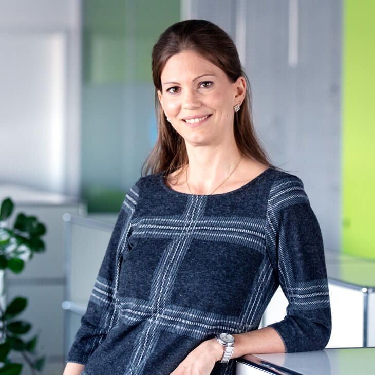 Daniela Anklin, in der Administration bei Beltronic